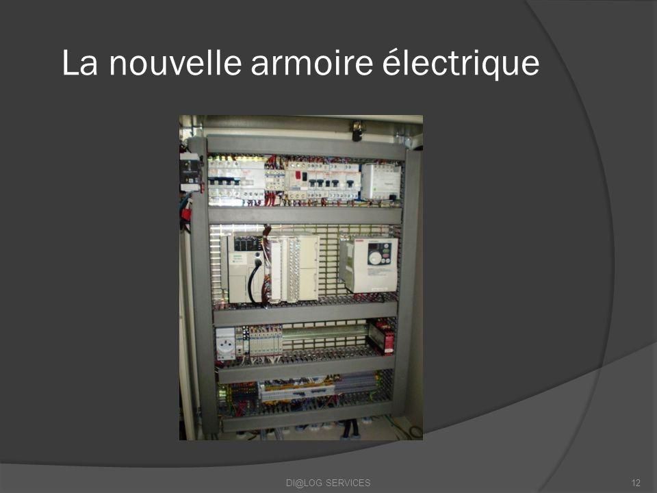 La nouvelle armoire électrique