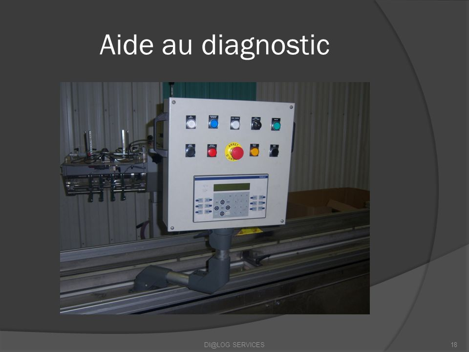 Aide au diagnostic DI@LOG SERVICES