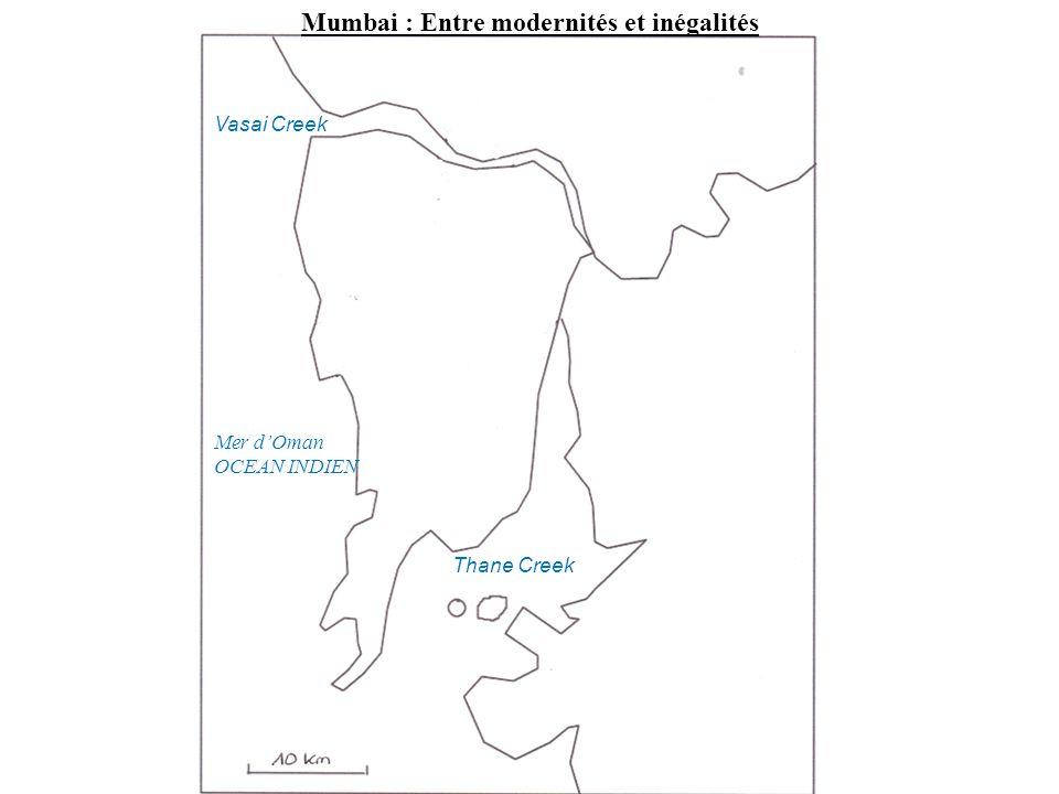 Mumbai : Entre modernités et inégalités