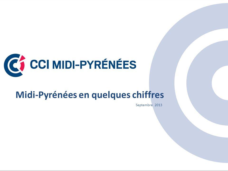 Midi-Pyrénées en quelques chiffres