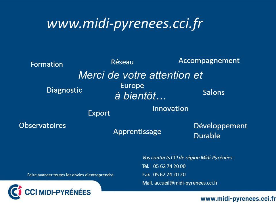 www.midi-pyrenees.cci.fr Merci de votre attention et à bientôt…