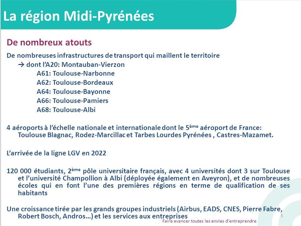 La région Midi-Pyrénées