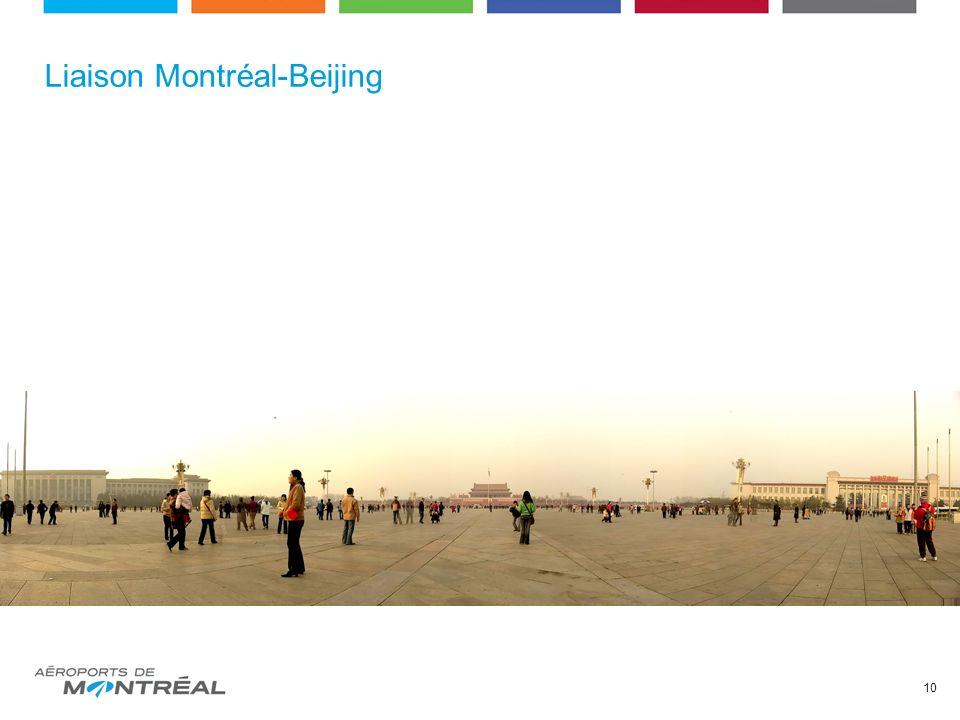 Liaison Montréal-Beijing