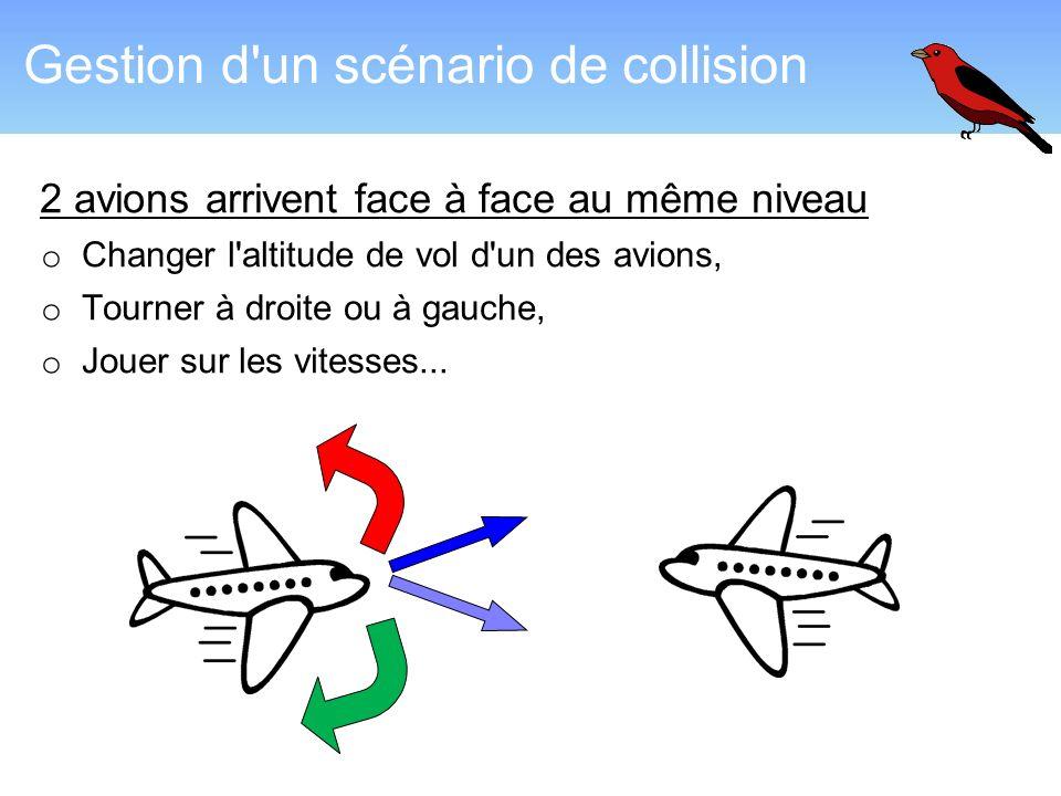 Gestion d un scénario de collision
