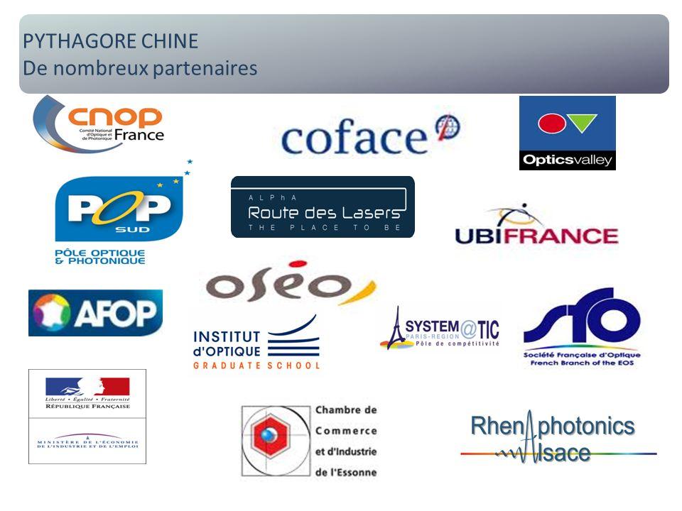 Pythagore Chine : de nombreux partenaires