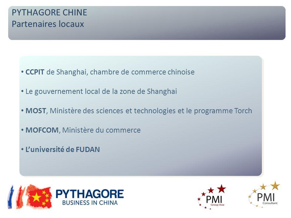 Des partenaires chinois opérationnels