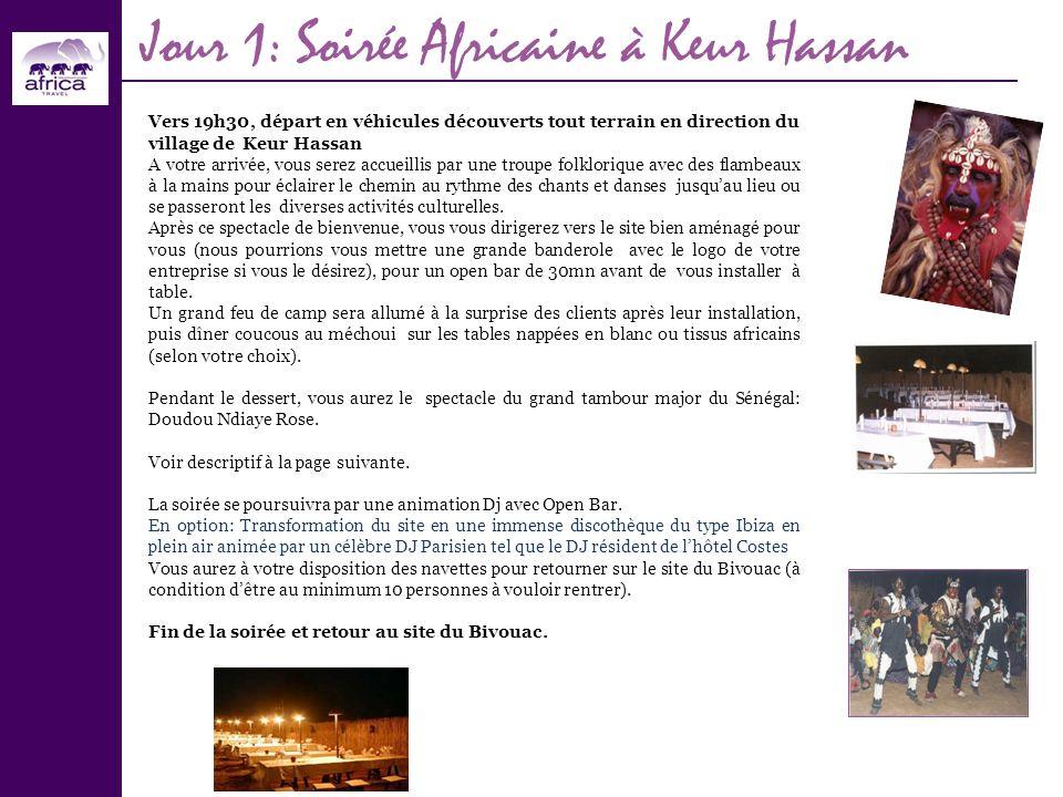Jour 1: Soirée Africaine à Keur Hassan