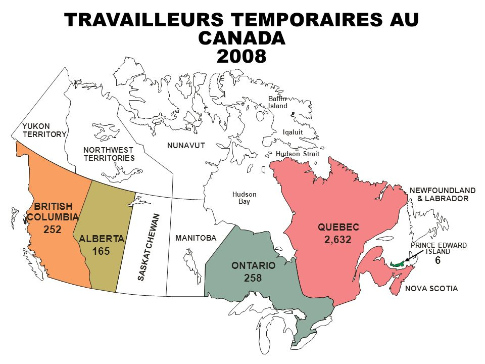 TRAVAILLEURS TEMPORAIRES AU CANADA