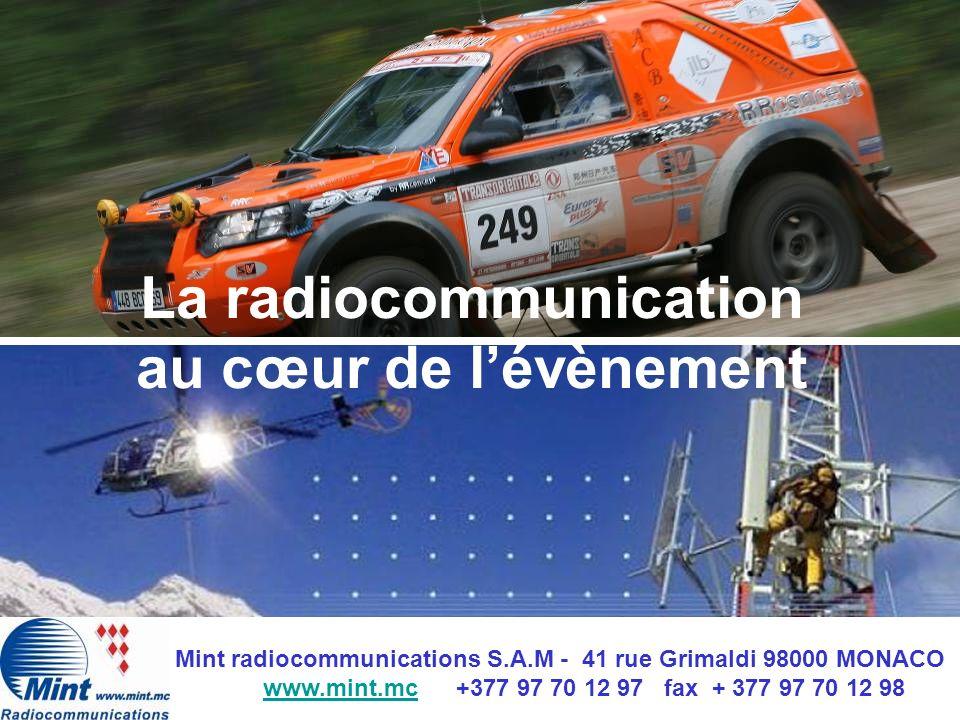 La radiocommunication au cœur de l'évènement