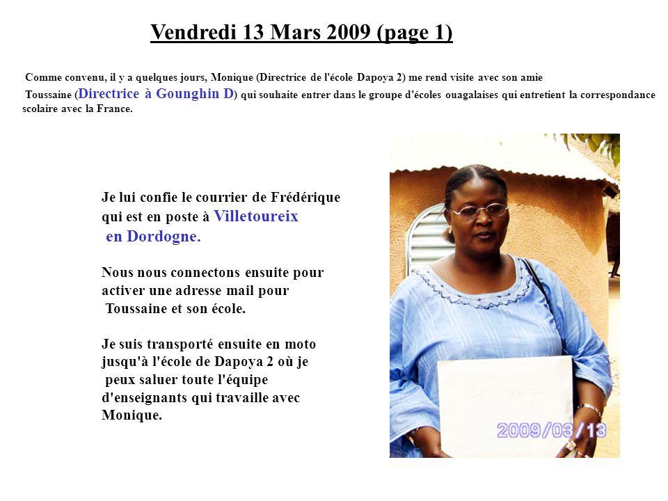 Vendredi 13 Mars 2009 (page 1) en Dordogne.