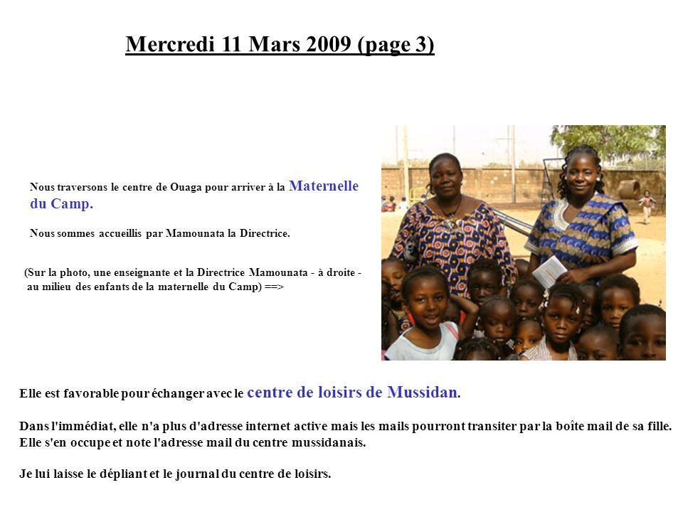 Mercredi 11 Mars 2009 (page 3) du Camp.