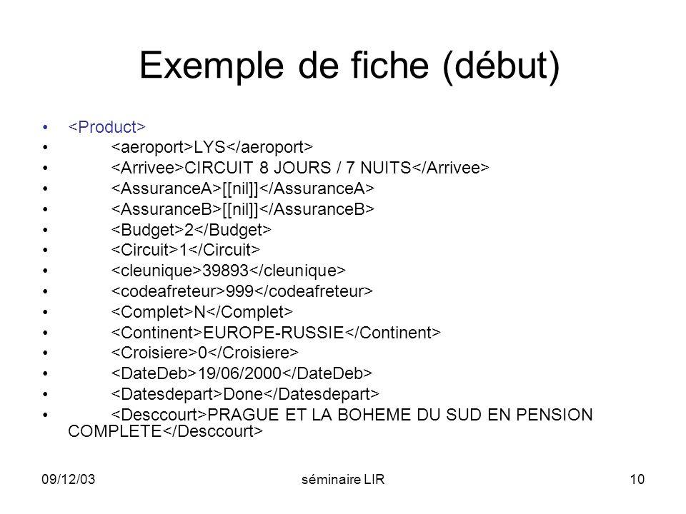 Exemple de fiche (début)