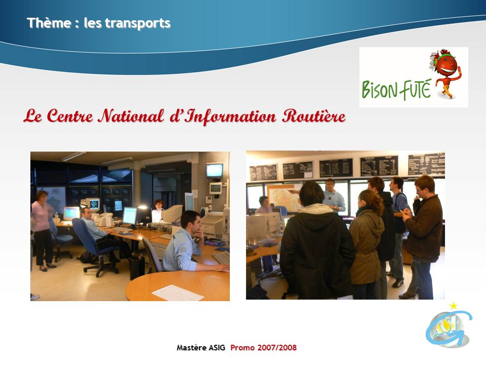 Le Centre National d'Information Routière