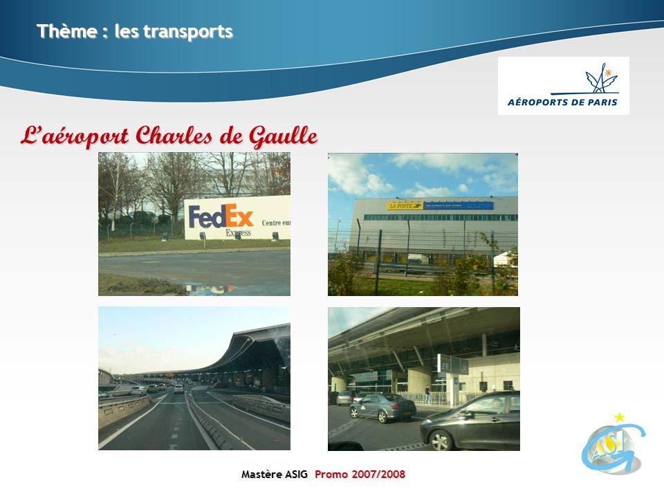 L'aéroport Charles de Gaulle