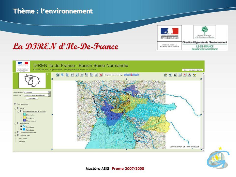 La DIREN d'Ile-De-France