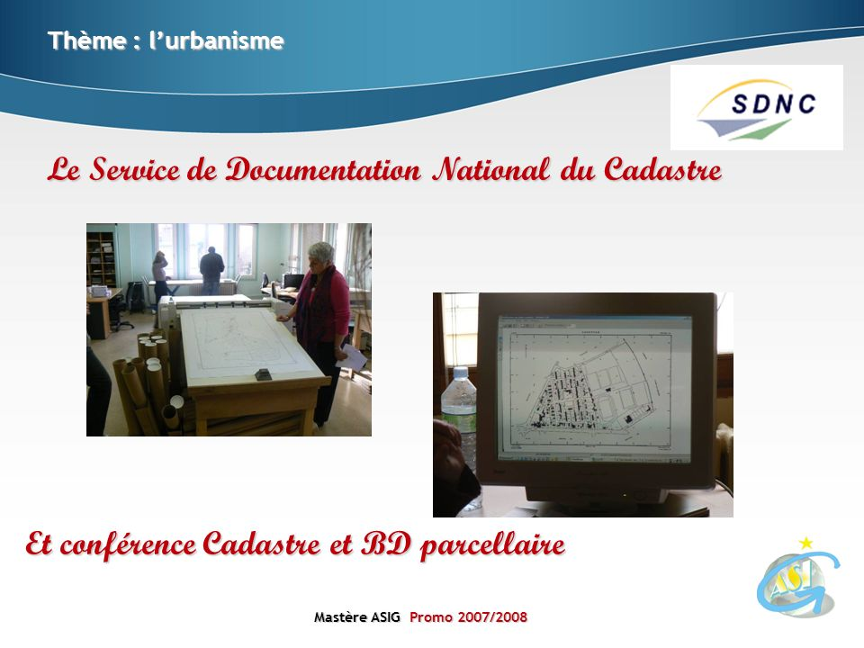 Le Service de Documentation National du Cadastre