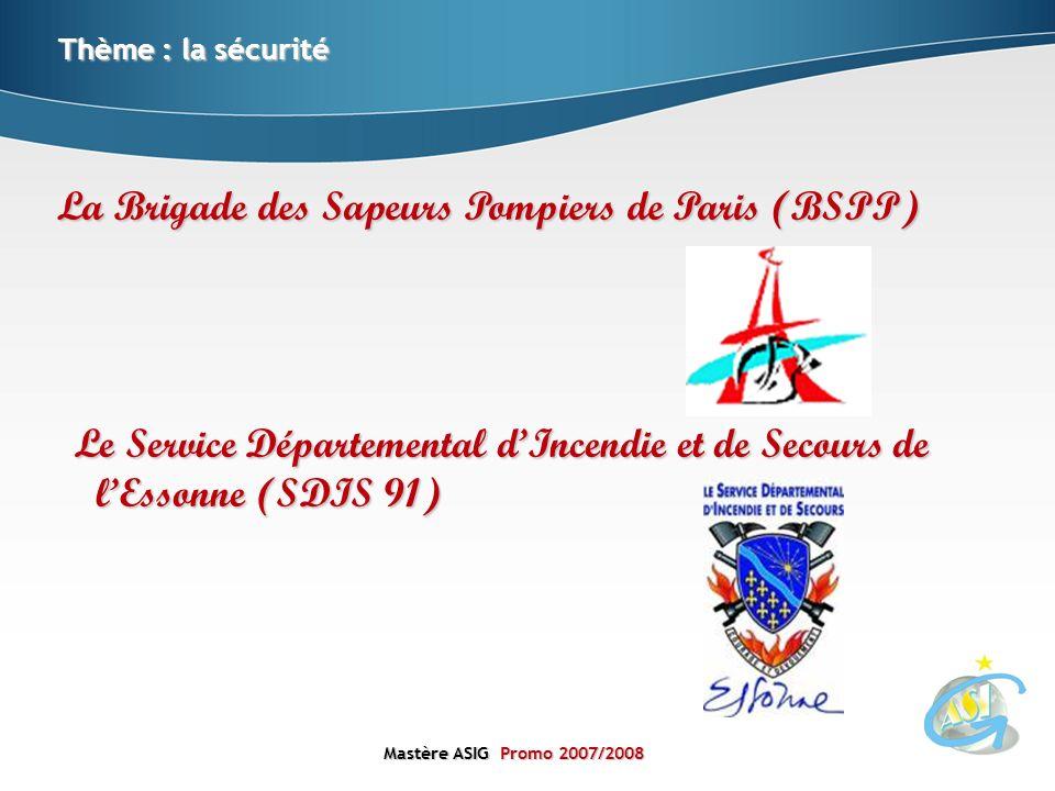 La Brigade des Sapeurs Pompiers de Paris (BSPP)