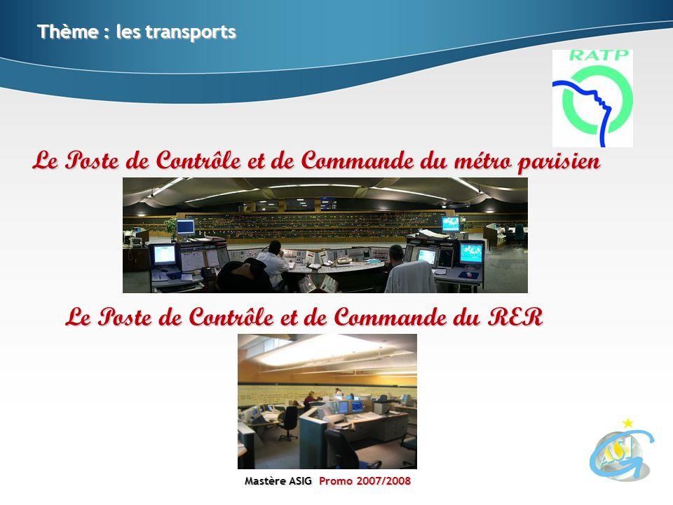 Le Poste de Contrôle et de Commande du métro parisien