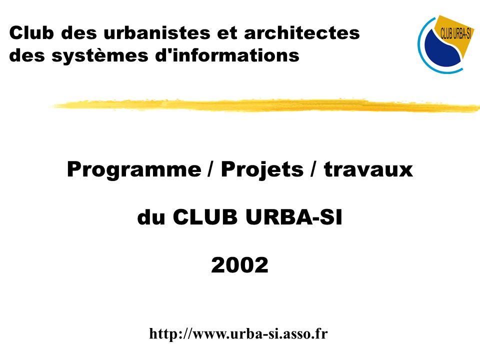 Club des urbanistes et architectes des systèmes d informations