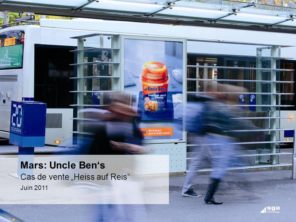 "Mars: Uncle Ben's Cas de vente ""Heiss auf Reis Juin 2011"