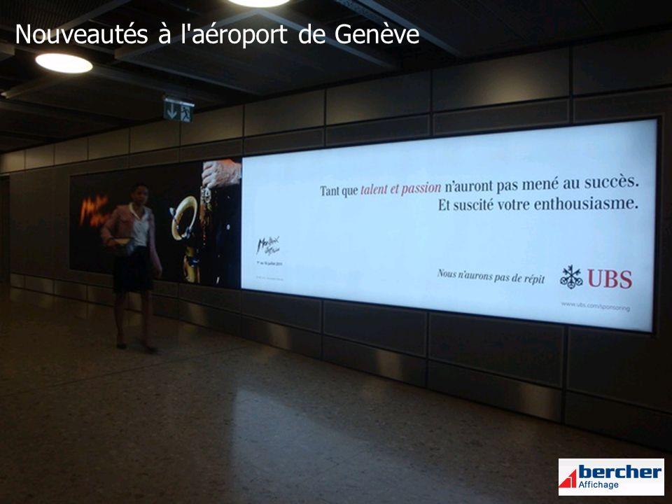 Nouveautés à l aéroport de Genève