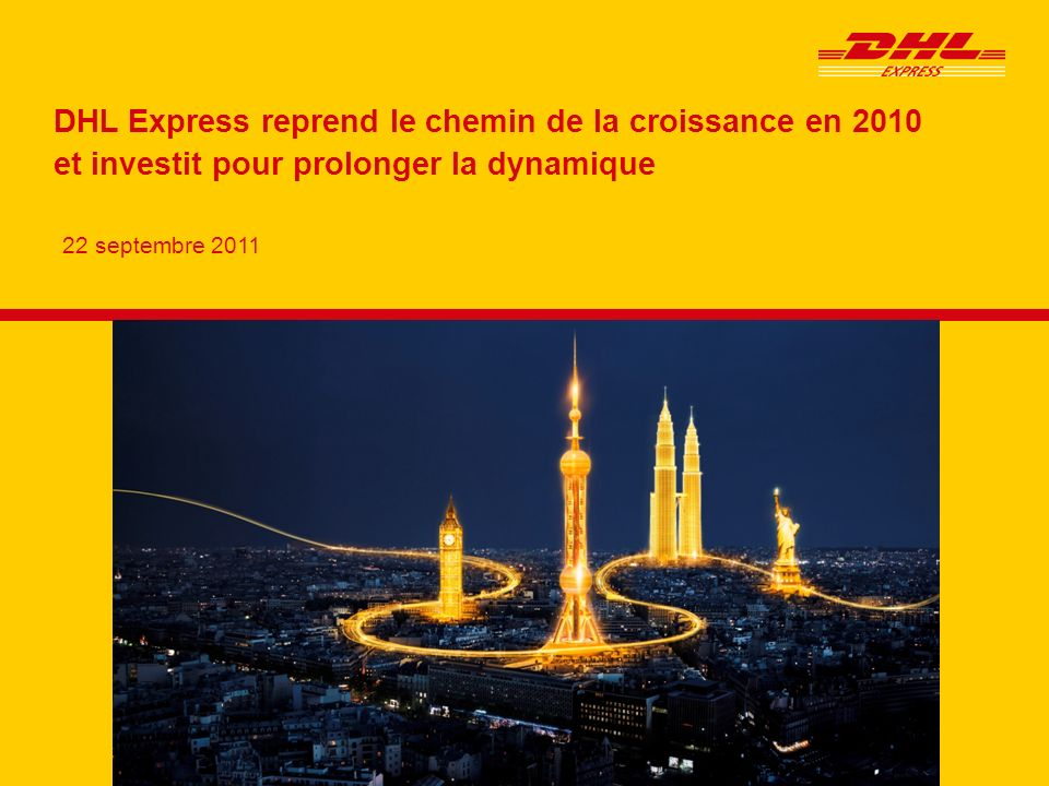 DHL Express : un recentrage sur l'express international