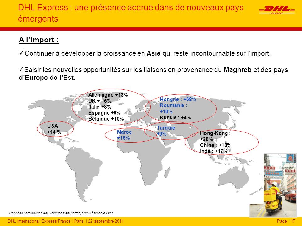 DHL Express : une présence renforcée auprès des PME