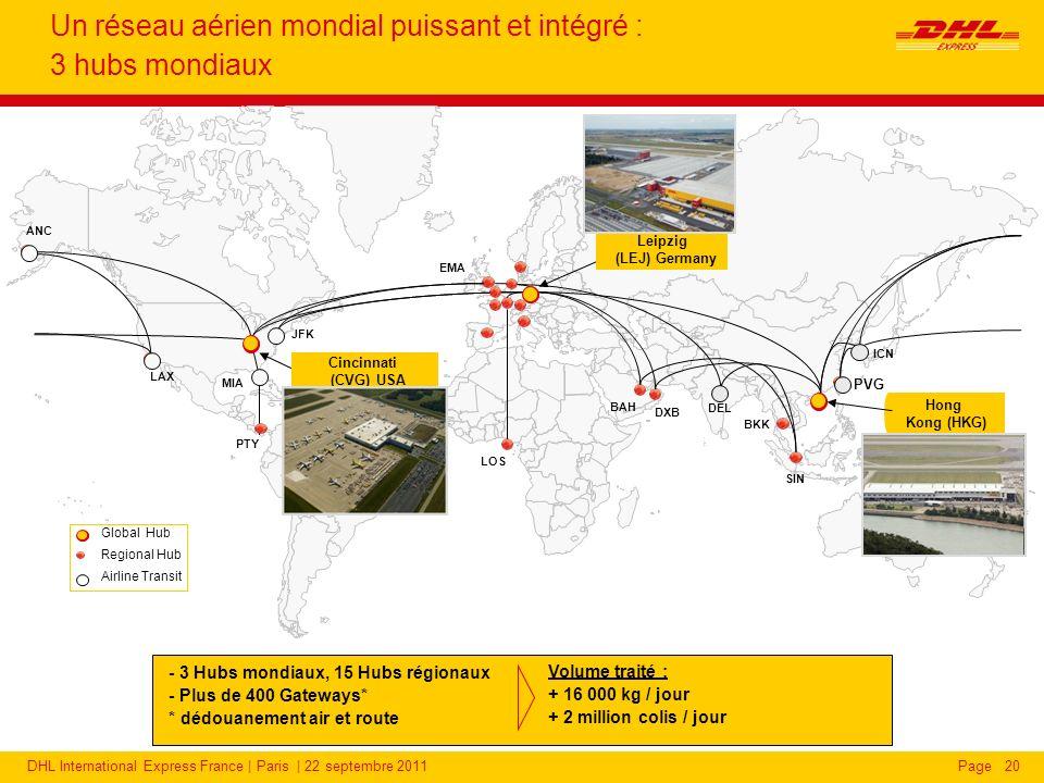 DHL Express : d'importants investissements pour développer son réseau