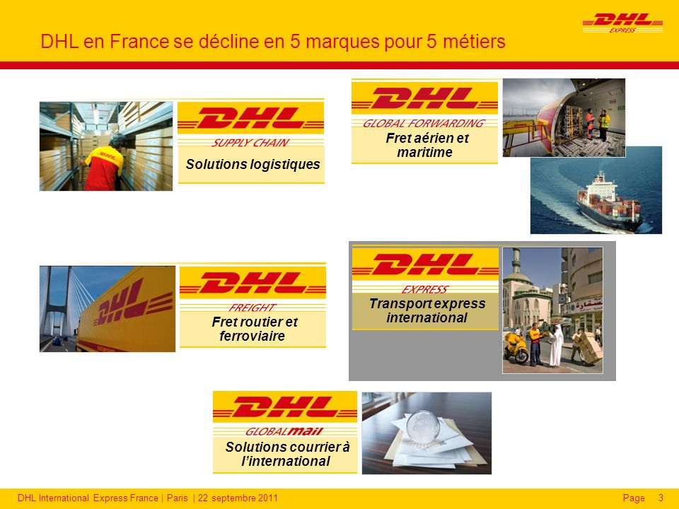 DHL, le pionnier du transport express international