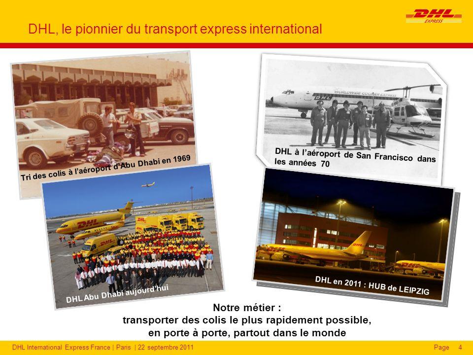 DHL Express dans le monde : chiffres clés