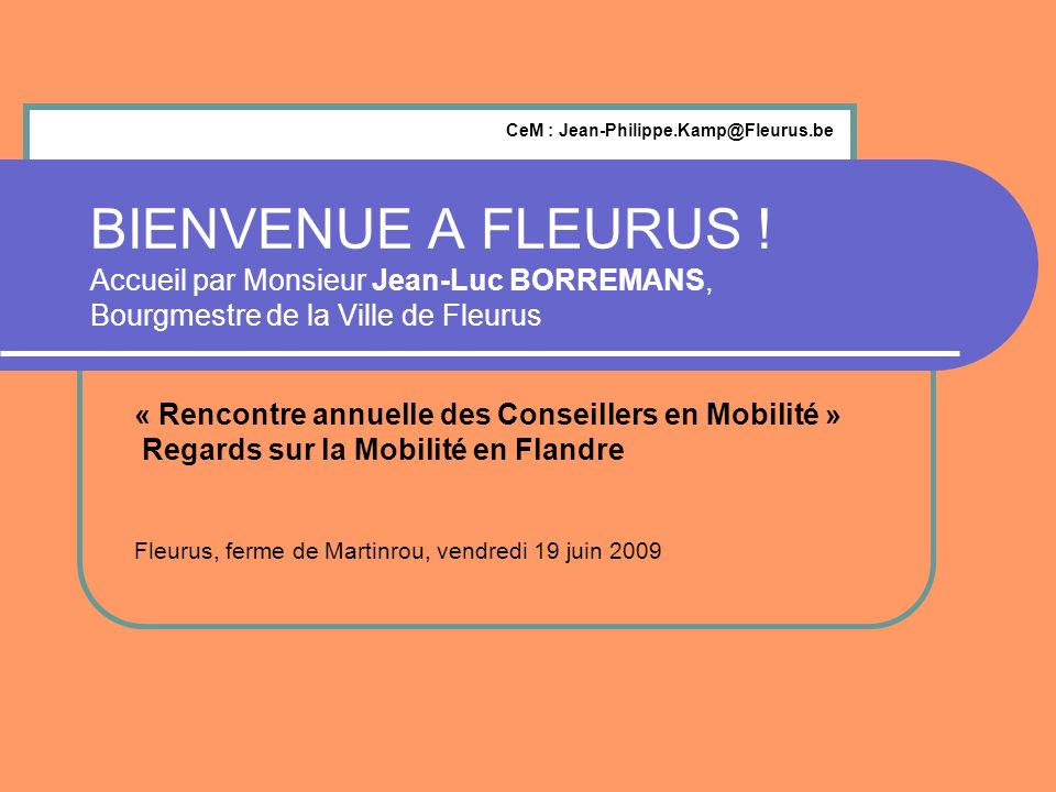 CeM : Jean-Philippe.Kamp@Fleurus.be