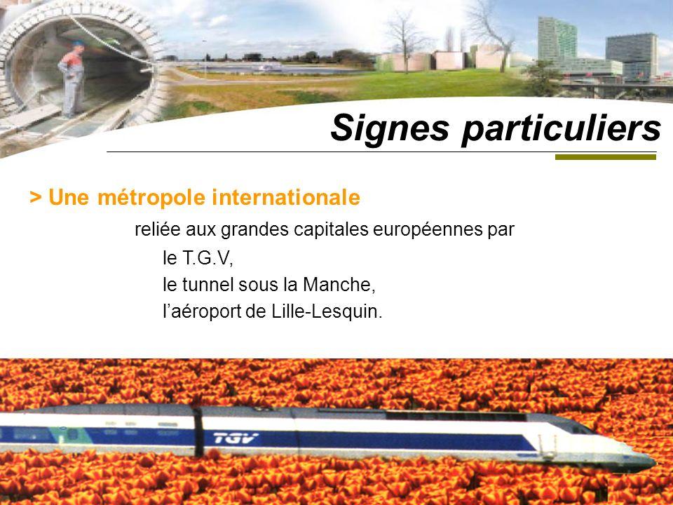 Signes particuliers reliée aux grandes capitales européennes par