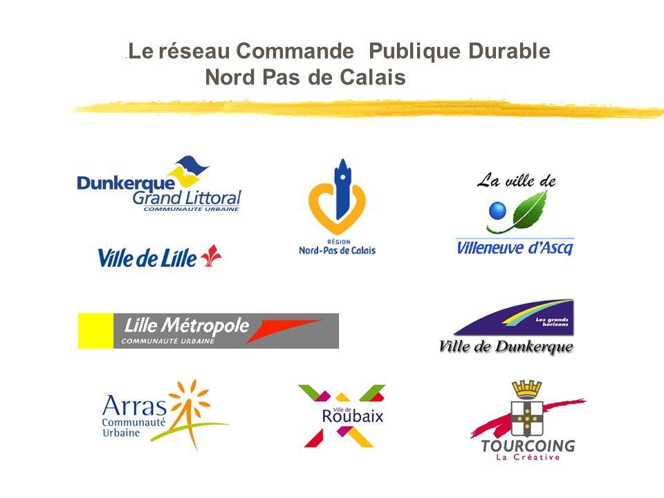 LeLe Le réseau Commande Publique Durable Nord Pas de Calais