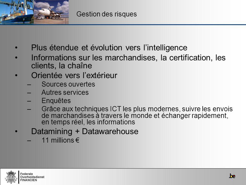 Plus étendue et évolution vers l'intelligence