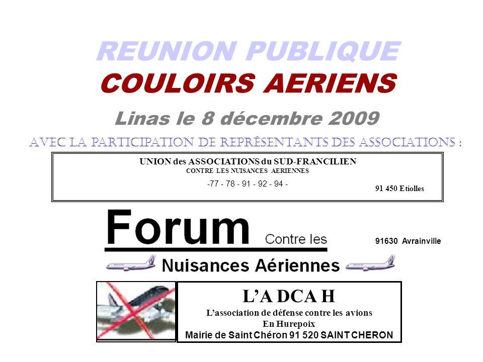 REUNION PUBLIQUE COULOIRS AERIENS