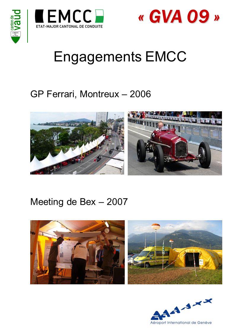 Engagements EMCC GP Ferrari, Montreux – 2006 Meeting de Bex – 2007