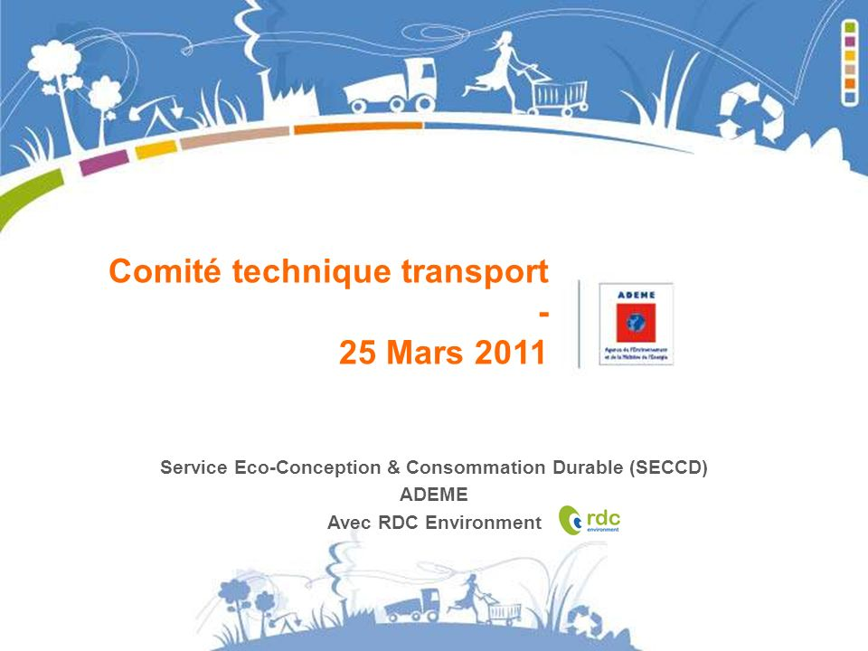Service Eco-Conception & Consommation Durable (SECCD)