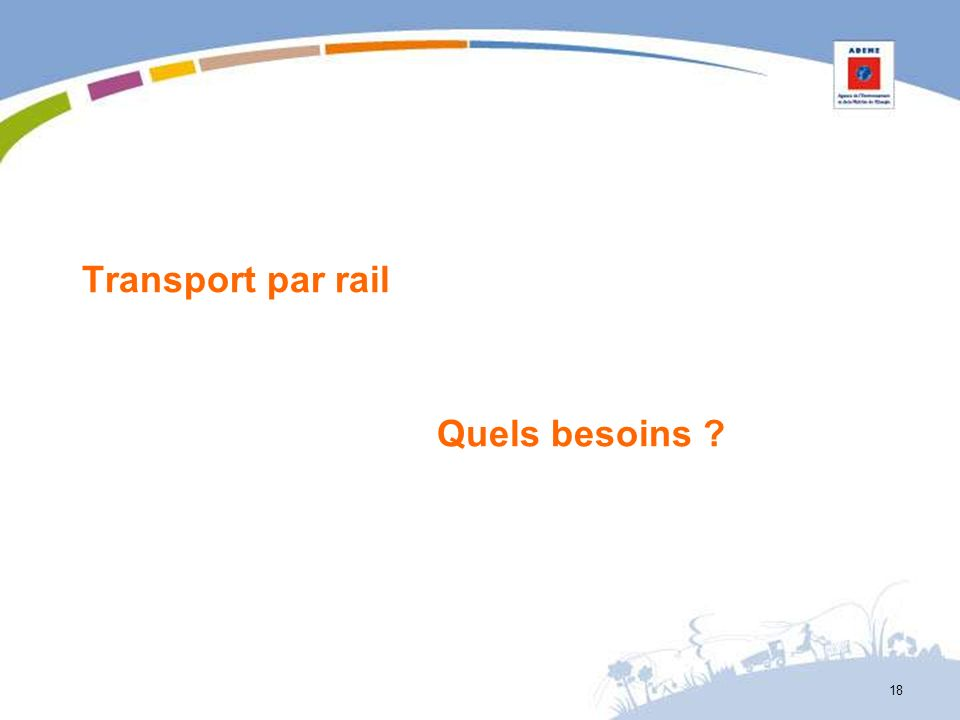 Transport par rail Quels besoins