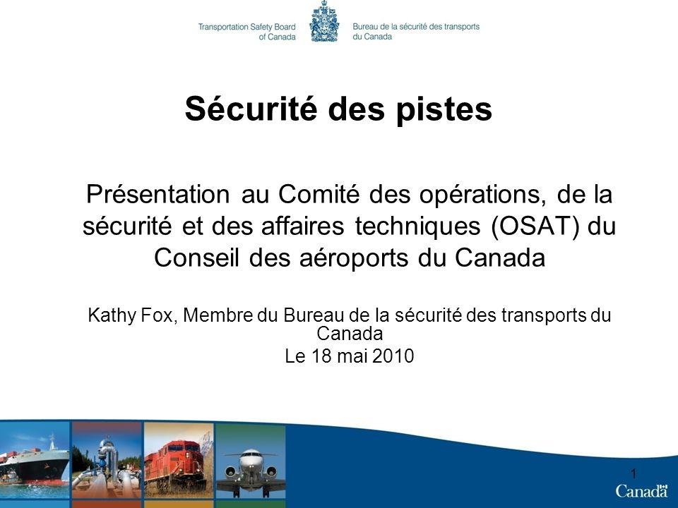 Kathy Fox, Membre du Bureau de la sécurité des transports du Canada