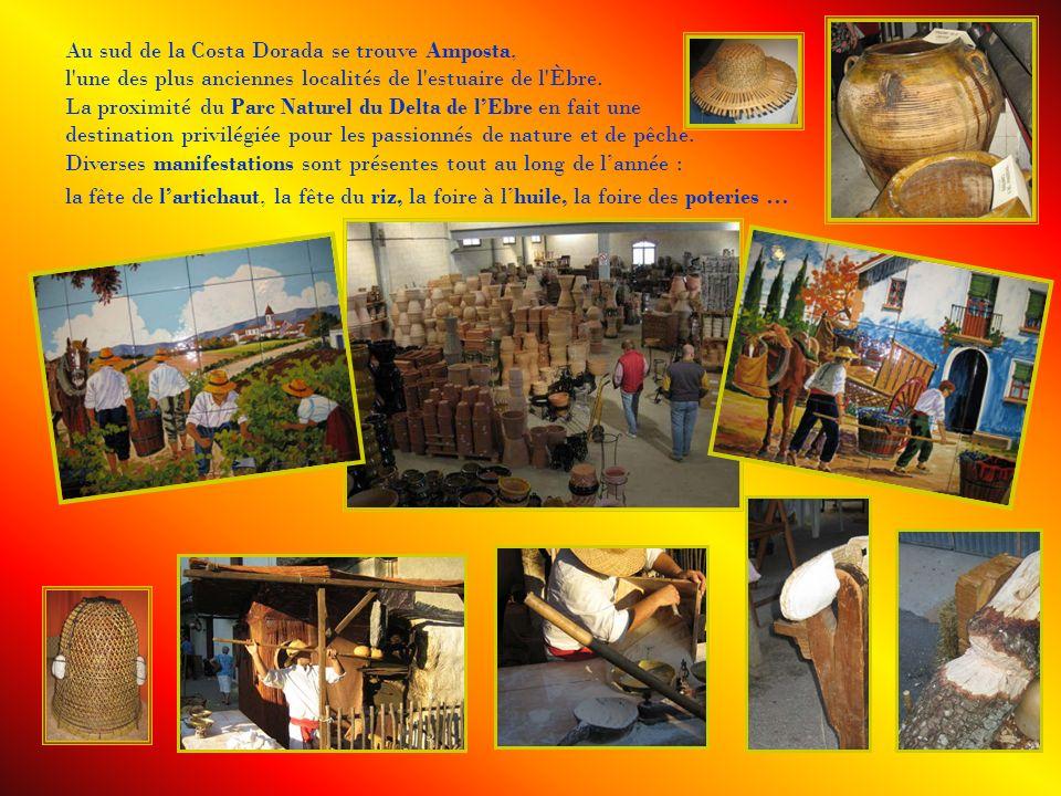 Au sud de la Costa Dorada se trouve Amposta,