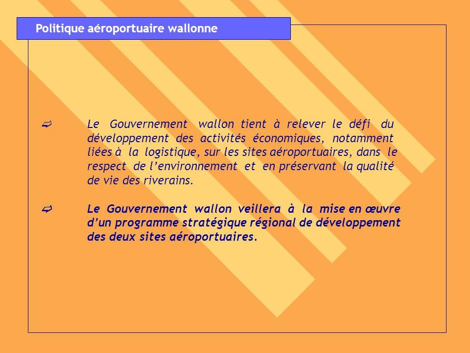 Politique aéroportuaire wallonne
