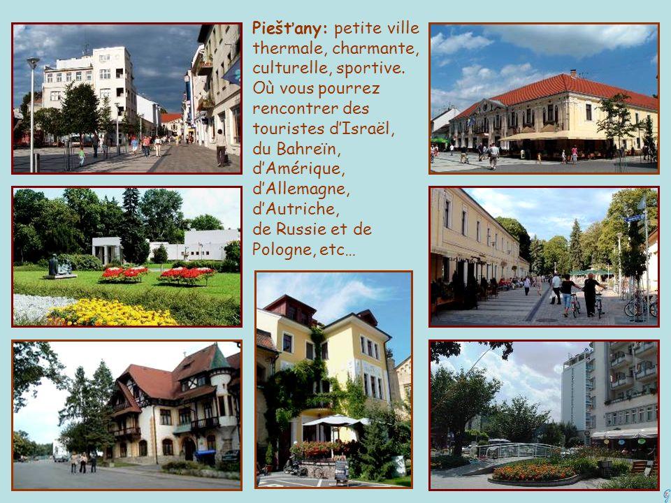 Piešťany: petite ville