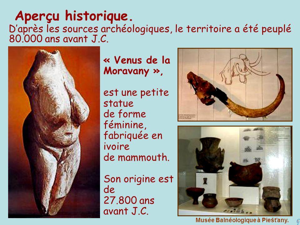 D'après les sources archéologiques, le territoire a été peuplé