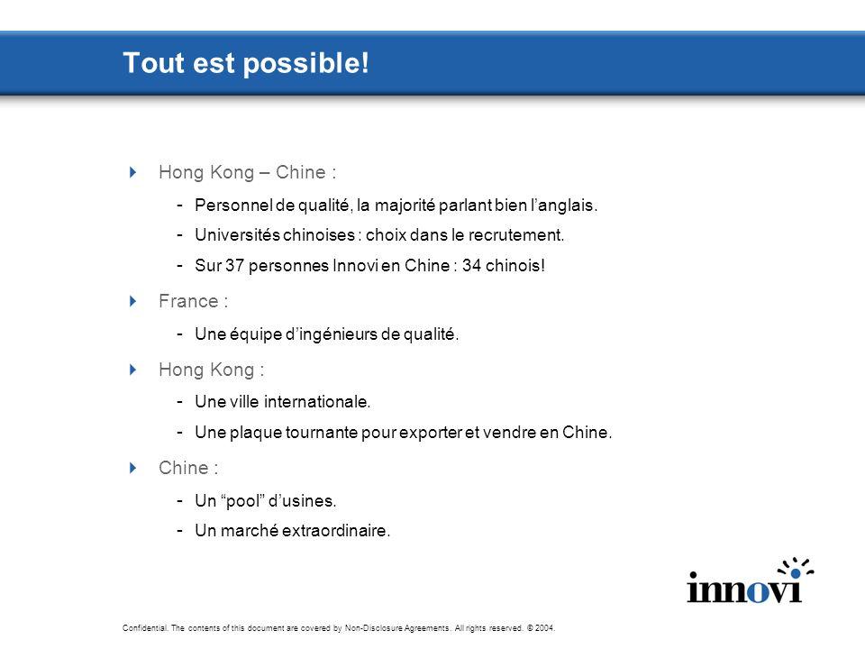 Tout est possible! Hong Kong – Chine : France : Hong Kong : Chine :