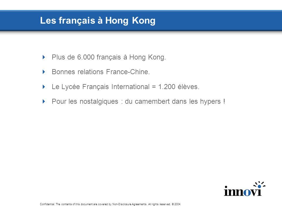 Les français à Hong Kong