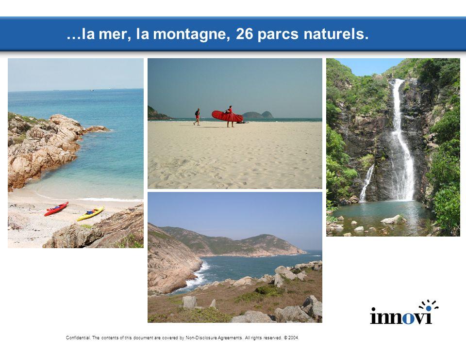 …la mer, la montagne, 26 parcs naturels.