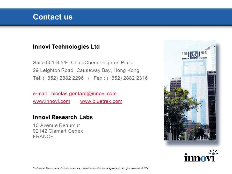 Contact us Innovi Technologies Ltd Innovi Research Labs