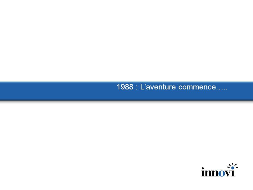1988 : L'aventure commence…..