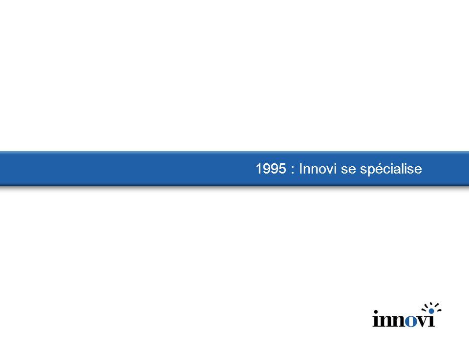 1995 : Innovi se spécialise