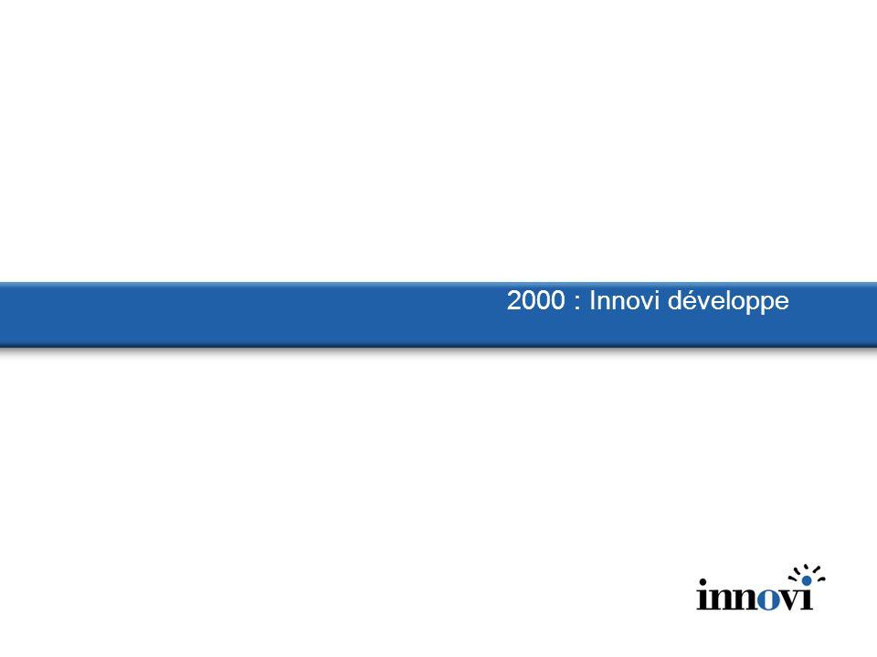 2000 : Innovi développe